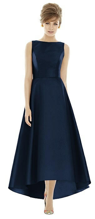 Alfred Sung Bridesmaid Dress D698