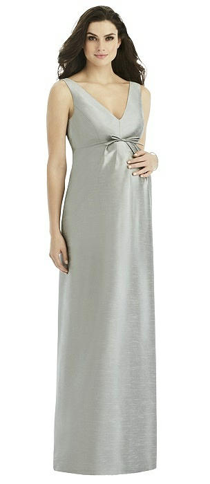 Alfred Sung Maternity Bridesmaid Dress Style M437