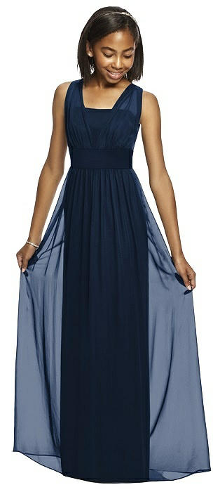 dc8ba58e8ff Blue Junior Bridesmaid Dresses Female Bridesmaid Dresses