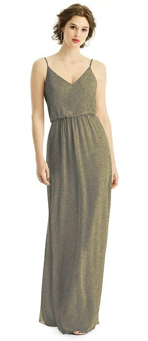 After Six Shimmer Bridesmaid Dress 1505LS