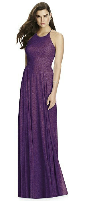 Dessy Shimmer Bridesmaid Dress 2988LS