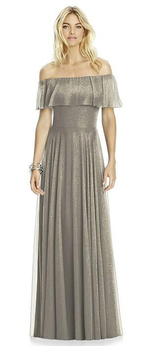 After Six Shimmer Bridesmaid Dress 6763LS