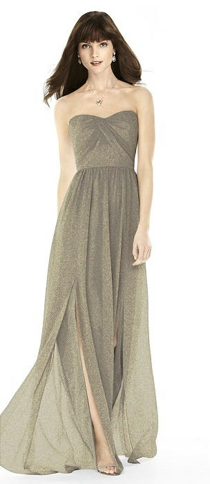 After Six Shimmer Bridesmaid Dress 6794LS