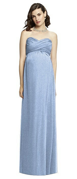 Dessy Shimmer Maternity Bridesmaid Dress M426LS
