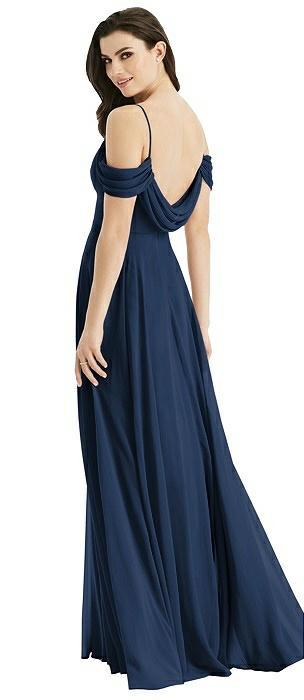 20b89774d03 Blue Studio Design Scoop Back Bridesmaid Dresses
