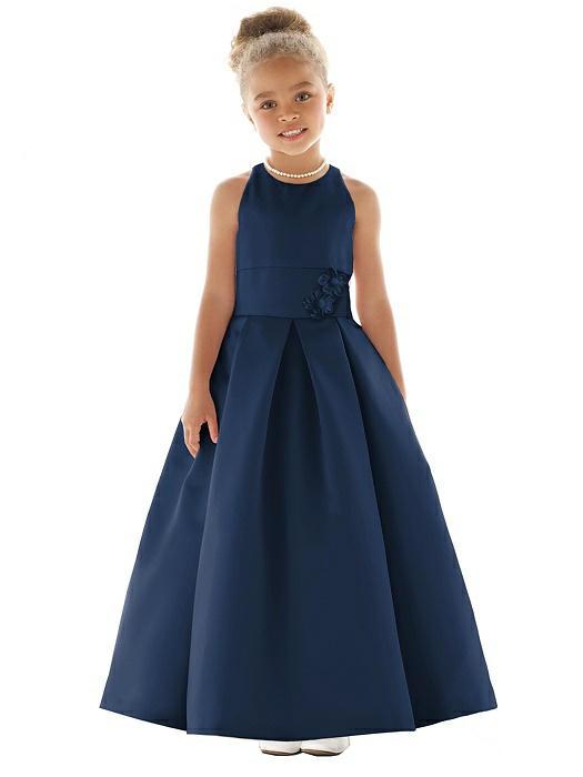 81d5f9c0504 Blue Flower Girl Dresses