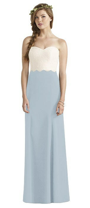 60b84f9de19 Mist Empire Waist Bridesmaid Dresses