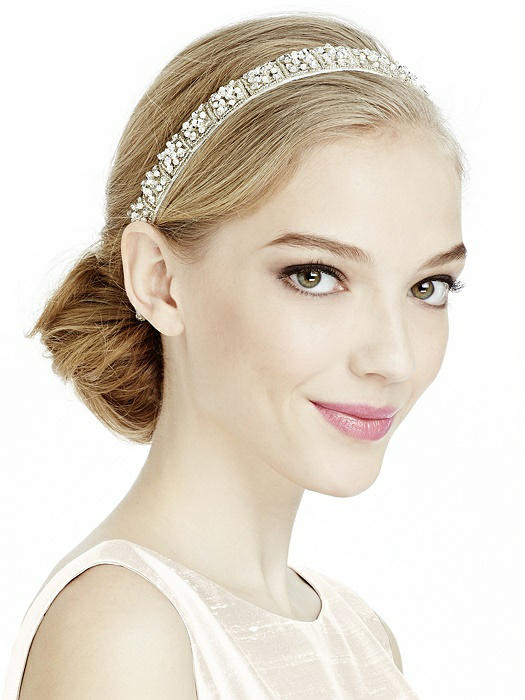 Pearl and Sequin Geo Bridal Headband