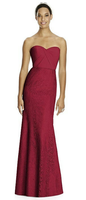 Studio Design 4510 Sweetheart Strapless Long Bridesmaid Dress