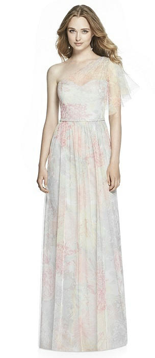 Jenny Packham Floral Bridesmaid Dress JP1003PRNT