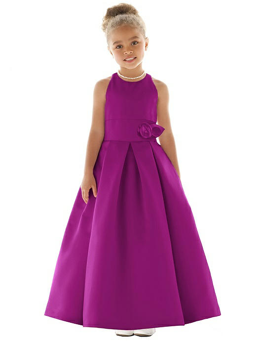 57ca21b28 Flower Girl Dress FL4058. Flower Girl Dress FL4058. persian plum