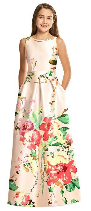 e6fb4073f Alfred Sung Junior Bridesmaid Dress JR544FLOR