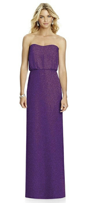 After Six Shimmer Bridesmaid Dress 6761LS