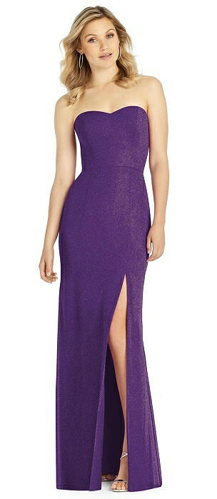 After Six Shimmer Bridesmaid Dress 6803LS