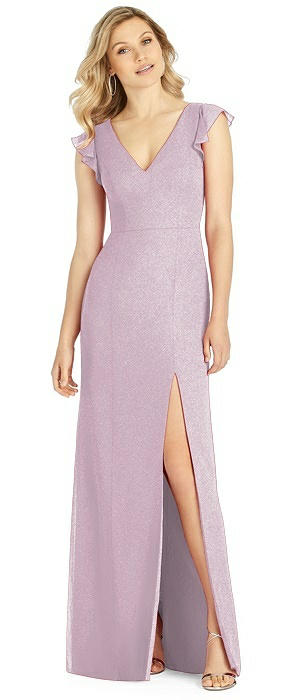 After Six Shimmer Bridesmaid Dress 6810LS
