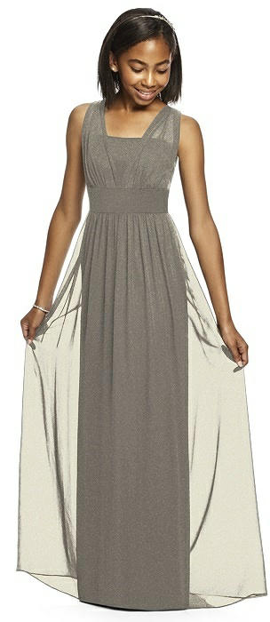 Dessy Shimmer Junior Bridesmaid Dress JR543LS