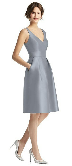 Alfred Sung Bridesmaid Dress D768
