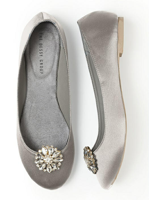 Jeweled Sunflower Shoe Clip