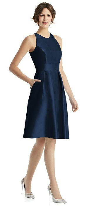 Alfred Sung Bridesmaid Dress D769