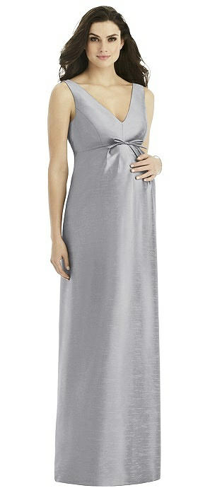Alfred Sung Maternity Bridesmaid Dress Style M438