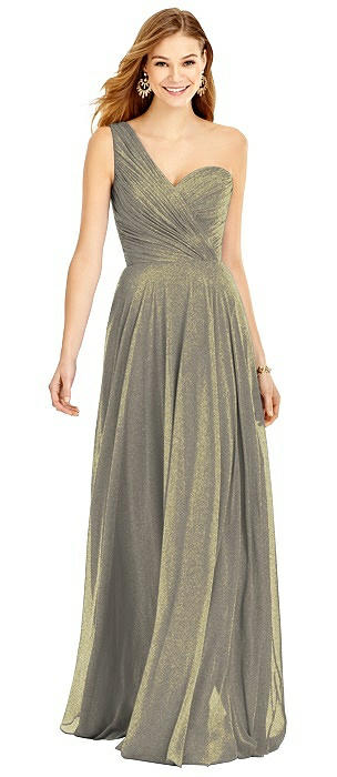 After Six Shimmer Bridesmaid Dress 6751LS