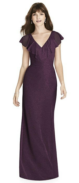 After Six Shimmer Bridesmaid Dress 6779LS