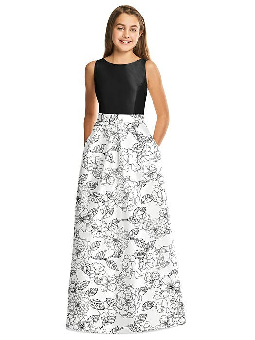 Alfred Sung Junior Bridesmaid Style JR544CP