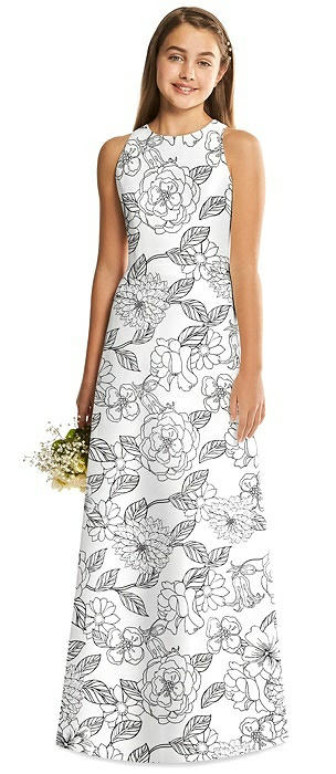 Alfred Sung Junior Bridesmaid Style JR545FP