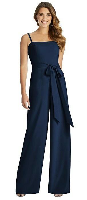 35cca1f4cfda Blue Jumpsuit Bridesmaid Dresses   The Dessy Group