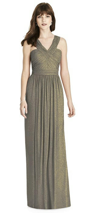 After Six Shimmer Bridesmaid Dress 6785LS