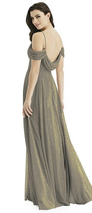 Studio Design Shimmer Bridesmaid Dress 4525LS