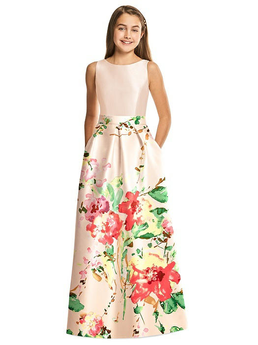 Alfred Sung Junior Bridesmaid Dress JR544CBP