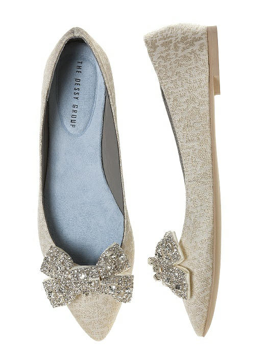 'Gigi' Crystalline Bow Shoe Clips