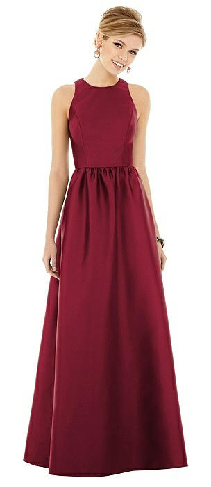 Alfred Sung Bridesmaid Dress D707