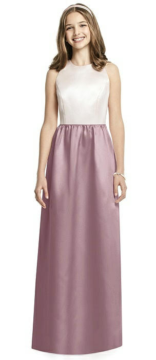 Dessy Collection Junior Bridesmaid Dress JR536