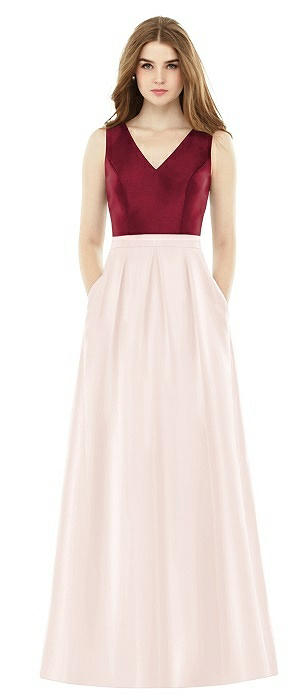 Alfred Sung Bridesmaid Dress D753