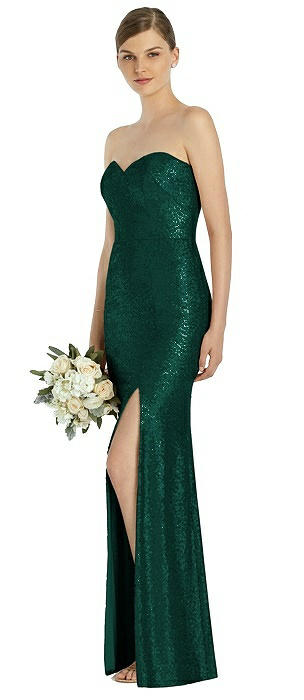 Dessy Bridesmaid Dress 3037