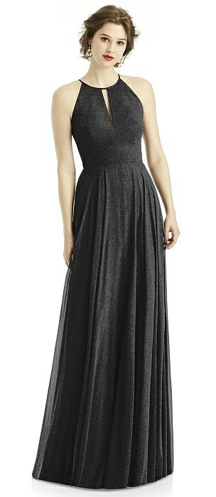 After Six Shimmer Bridesmaid Dress 1502LS