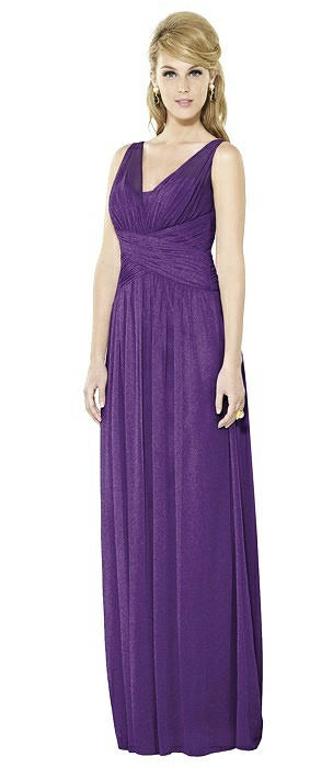 After Six Shimmer Bridesmaid Dress 6711LS