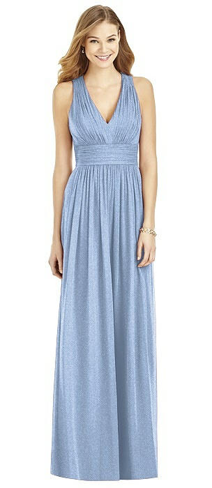 After Six Shimmer Bridesmaid Dress 6752LS