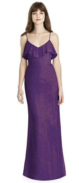 After Six Shimmer Bridesmaid Dress 6780LS