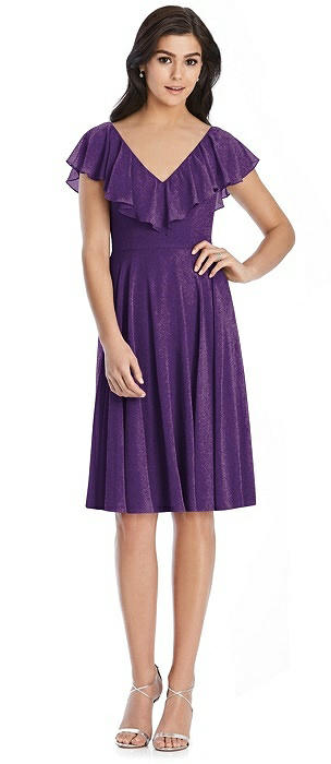After Six Shimmer Bridesmaid Dress 6796LS