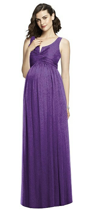 After Six Shimmer Maternity Bridesmaid Dress M424LS