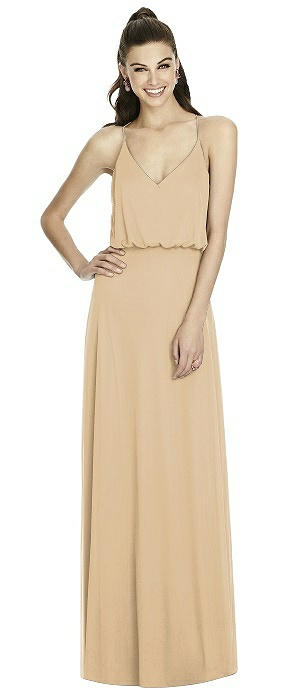 Alfred Sung Bridesmaid Dress D739